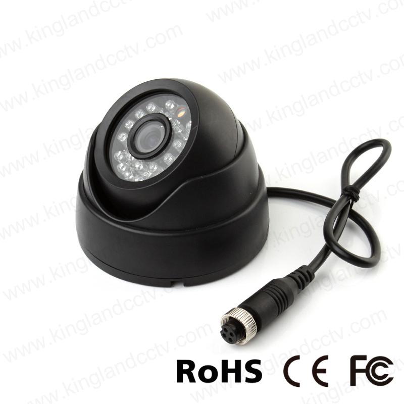 1000tvl High Resolution Plastic IR Dome Camera for Bus