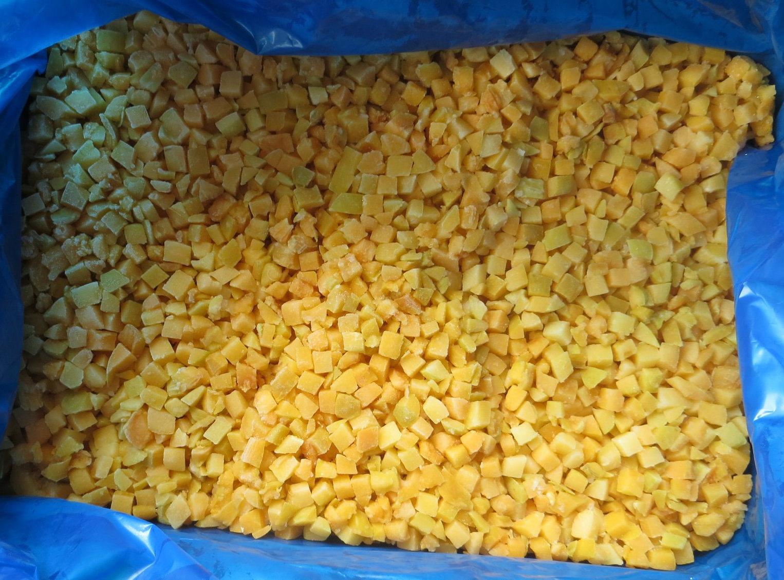 Frozen Yellow Peach Diced