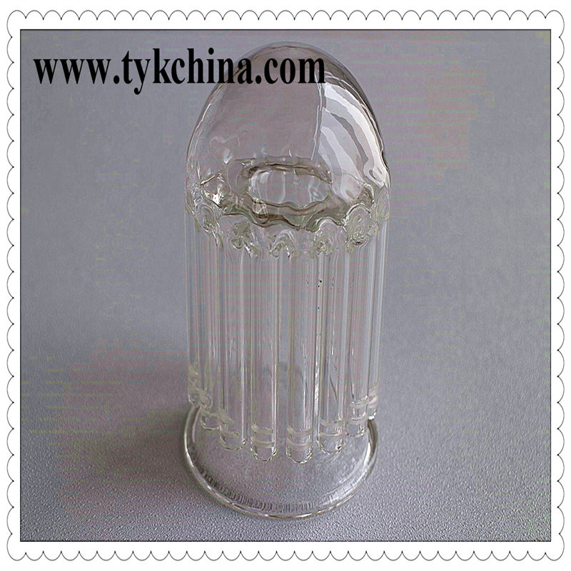 Colored Socket Glass Ground Joints for Glass Water Pipe