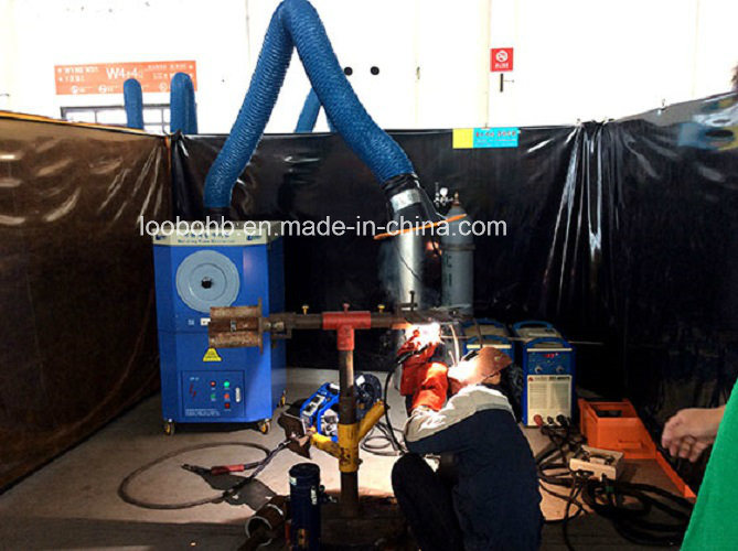 Mobile Welder Smoke Purifier for Single or Double Welding Station