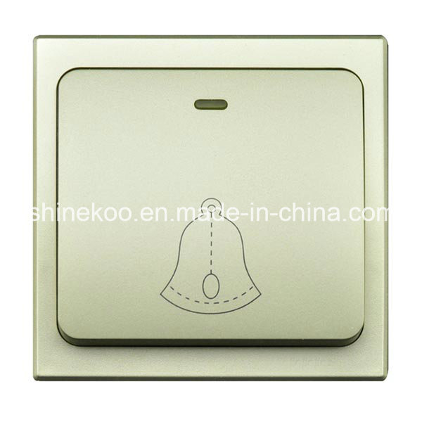 Self Powered No Battery Wireless Chime with Plug (SN800SW-UE)