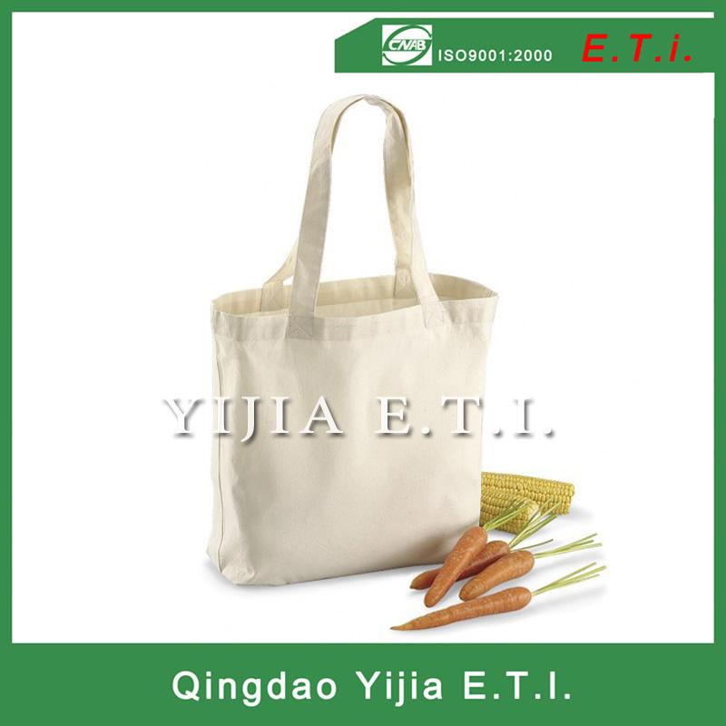 High Quality Orrganic Cotton Shopper Cotton Bag