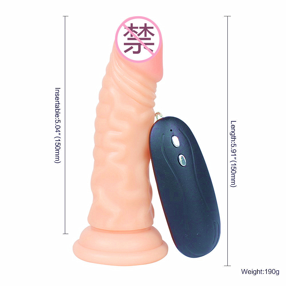 Soft Silicone Strong Vibrationg Sex Toy Dildos for Female