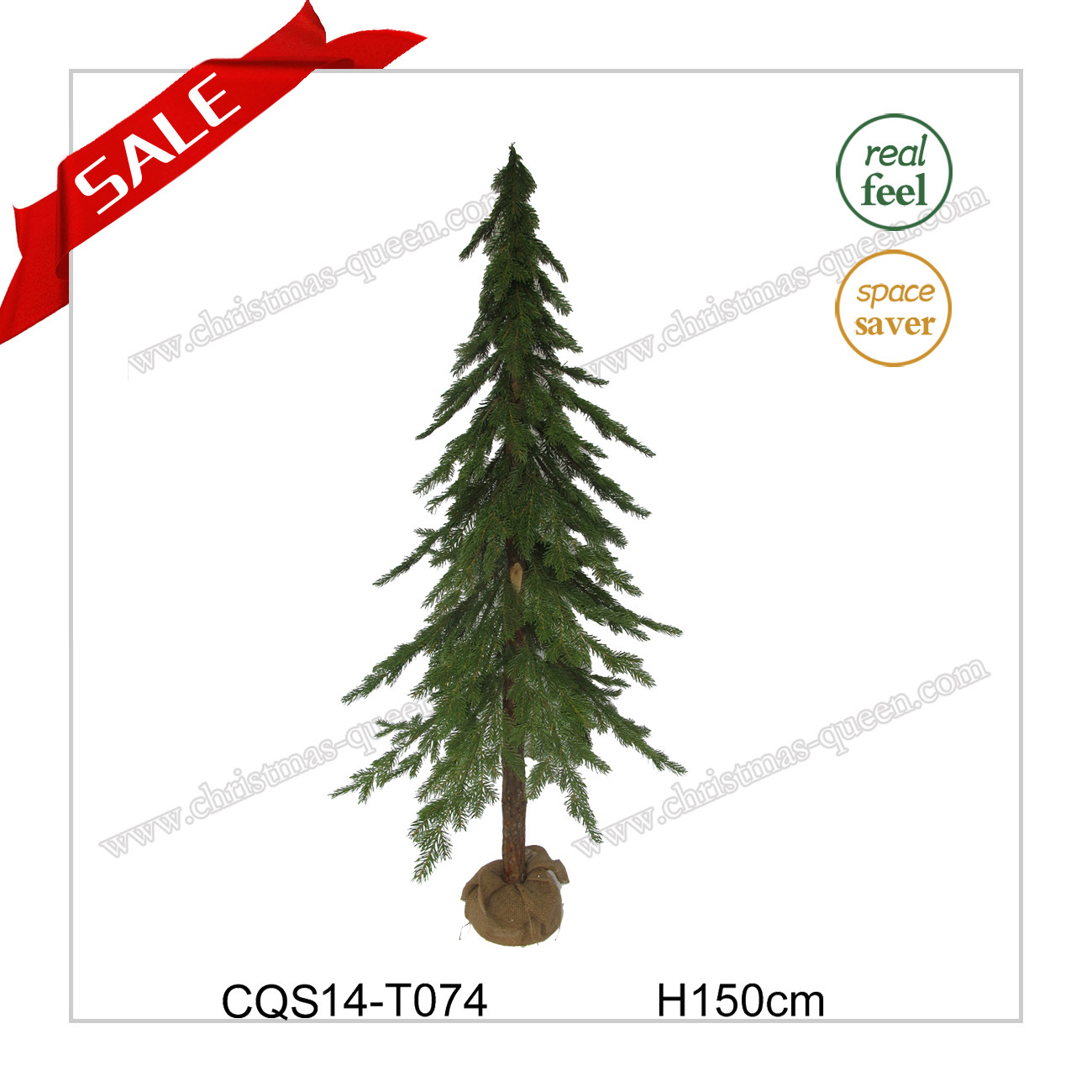 H120cm Indoor Cheapest Artificial Pine Needle Christmas Craft