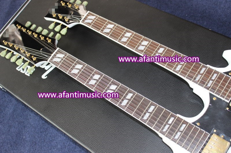 Afanti Music/ Double Neck Style Electric Guitar (ASG-2209)