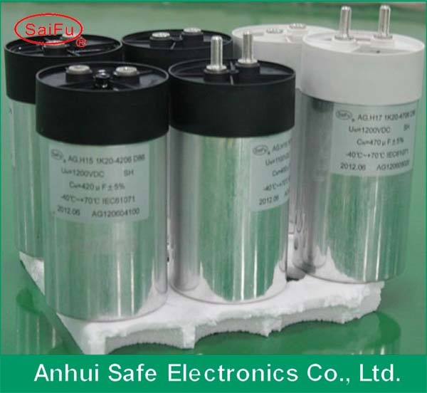 Stock DC Filter Capacitor Cylinder for Solar Power Wind Power
