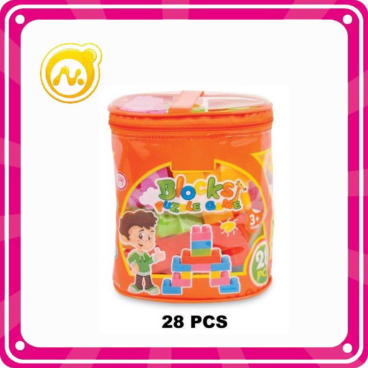 45PCS Plastic Blocks Toy DIY Building Block