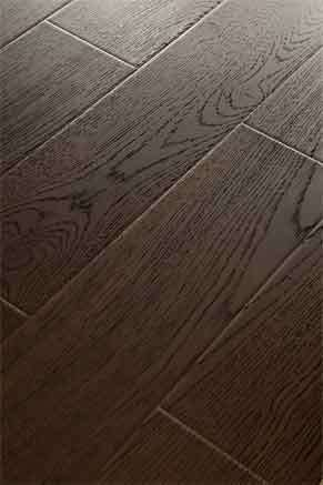 Shinning Wood Grain Registered Embossed Wooden Laminate Flooring