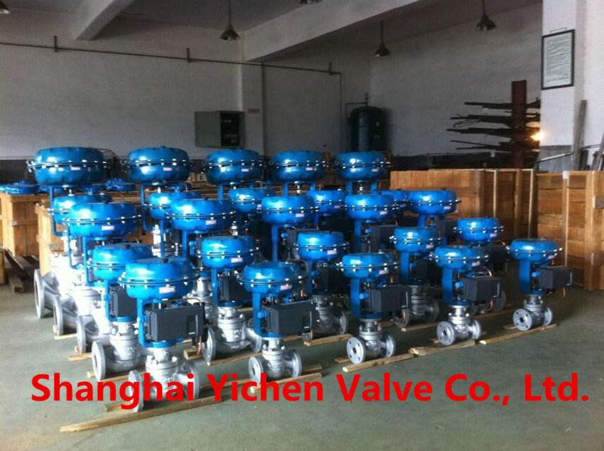 High Pressure and High Temperature Steam Pneumatic Control Valve (ZJHM)