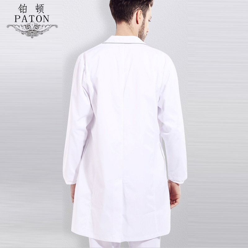 Wholesale Design Cotton Medical Wear White Lab Coat