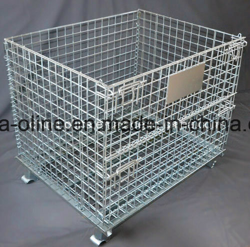 Steel Storage Equipment Wire Mesh Container
