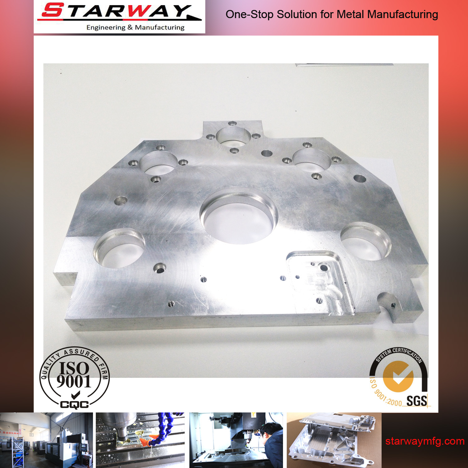 OEM Metal Cutting Machining, CNC Machining, Precision Machining