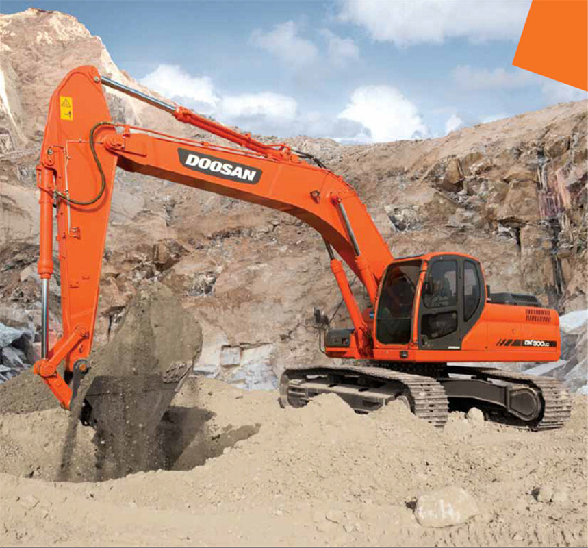 Dx300LC 30 Ton Doosan Crawler Excavator for Sale