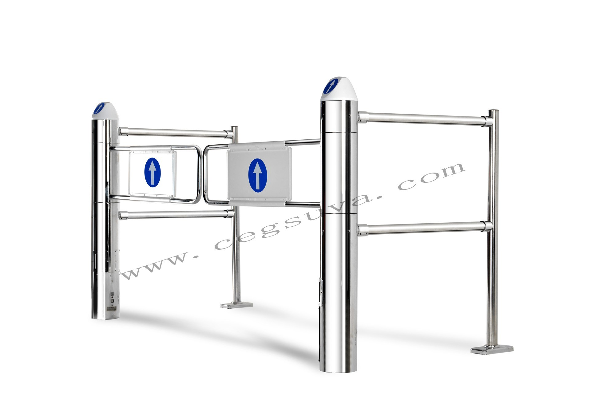 (CE) Supermarket Entrance Gate, Electric Gate, Automatic Gate, Rotogate, Swing Gate