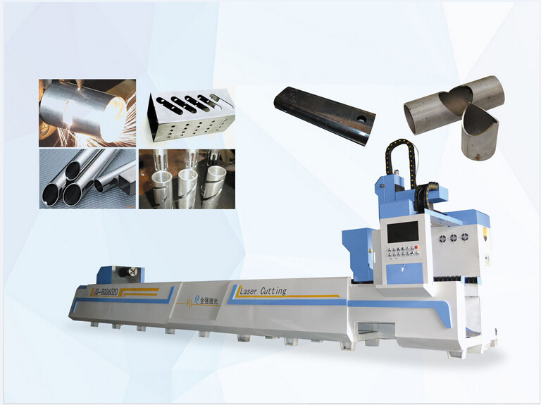 Semi-Automatic Pipe/Tube Laser Cutting Machine 6 Meters