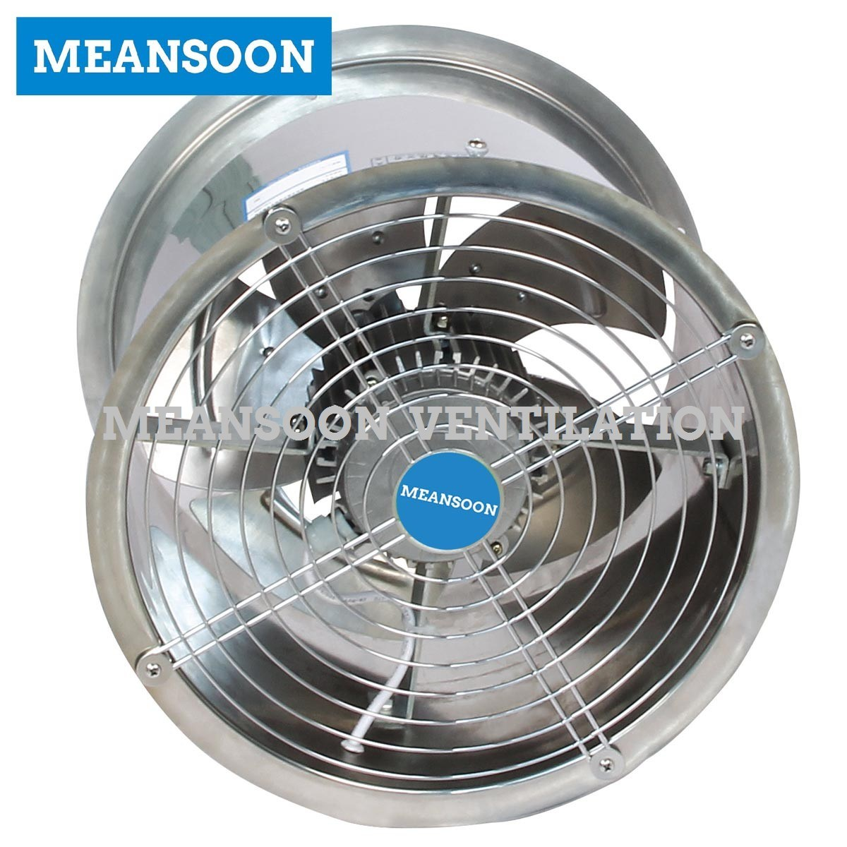 200 Stainless Steel Axial Fan for Exhaust Ventilation