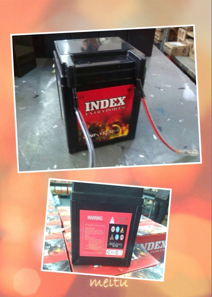 12V2.5ah Sealed Maintenance Free Lead Acid Factory Activated Motorcycle Battery