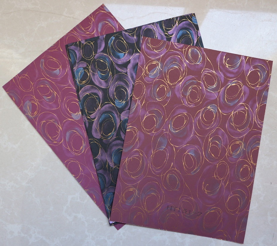 Decorative Laminated Paper, Fantastic Design with Metallic Printed, for Furniture, MDF