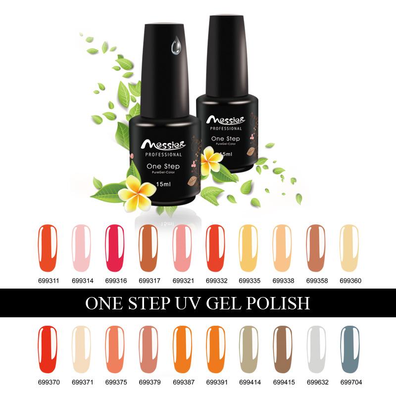Nail Art Soak off 194 Kinds Colors 15ml One Step Gel Polish