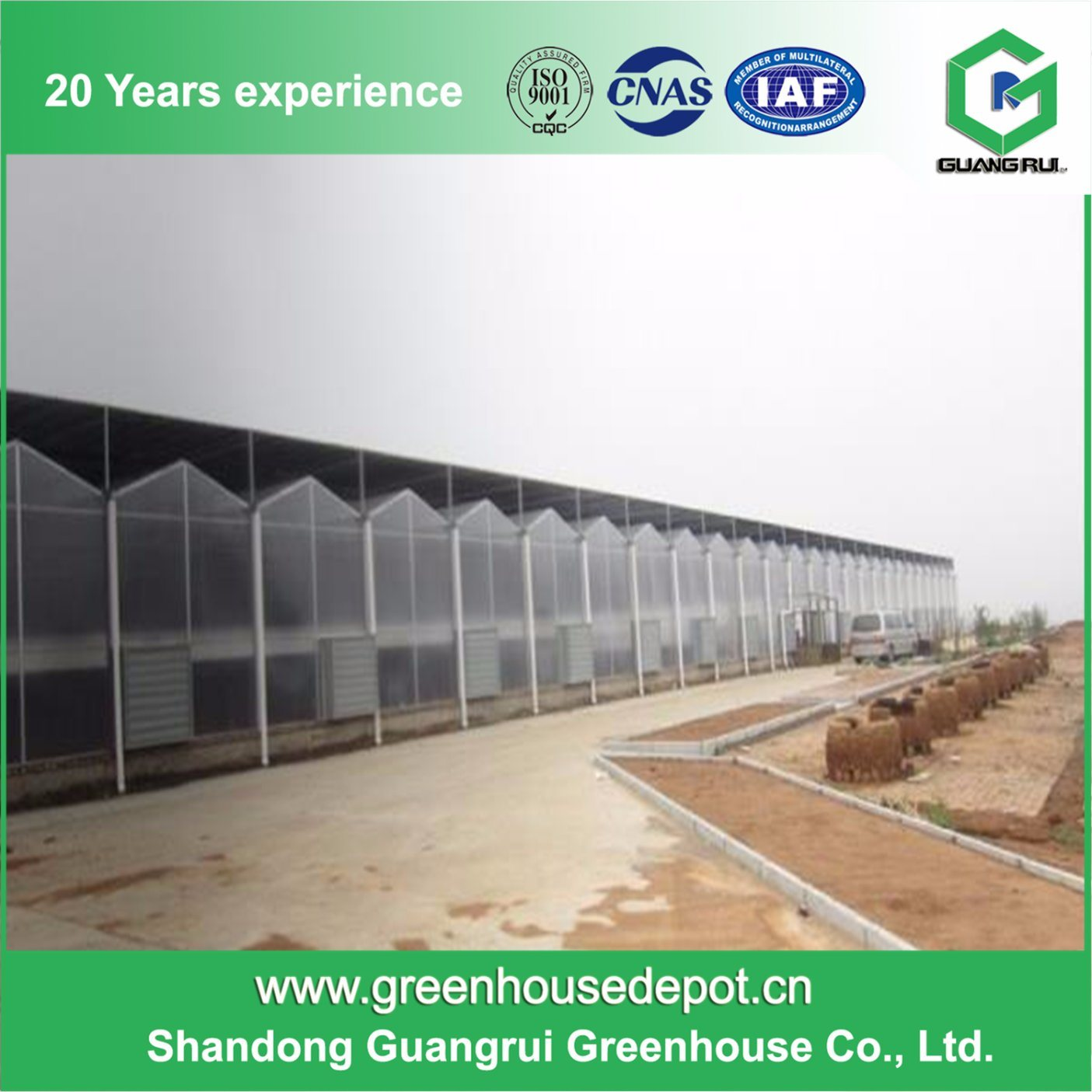 Beat Price Polycarbonate Sheet Green House PC Greenhouse