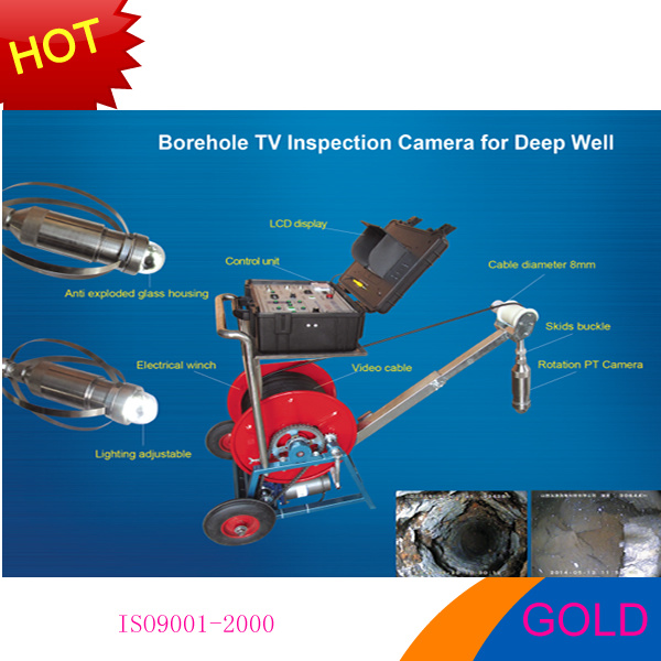 300m, 600m Water Well Camera, Downhole Camera, Underwater Camera and Borehole Camea for Sale