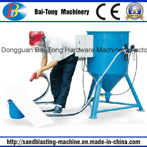 Portable Suction Type Sandblasting Machine Pot