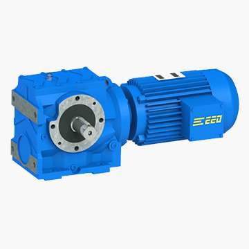 S Helical Worm Gearboxes with Flange Output
