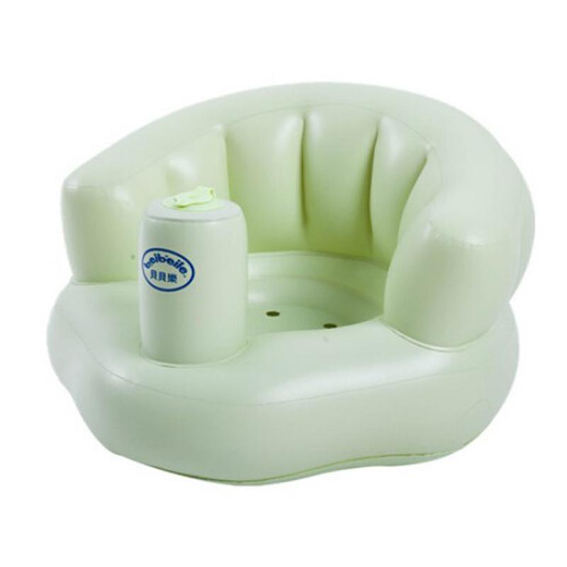 Built-in Air Pump PVC or TPU Inflatable Kids Seat