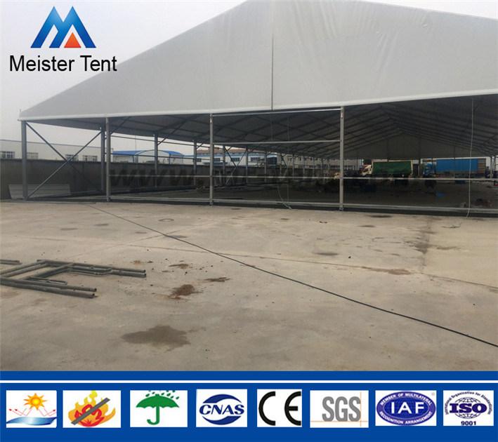 Big Outdoor Steel Industrial Storage Warehouse Tent Marquee