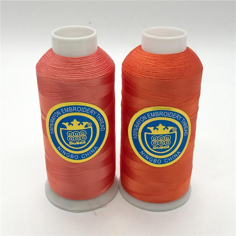 100% Viscose Embroidery Thread 150d/2