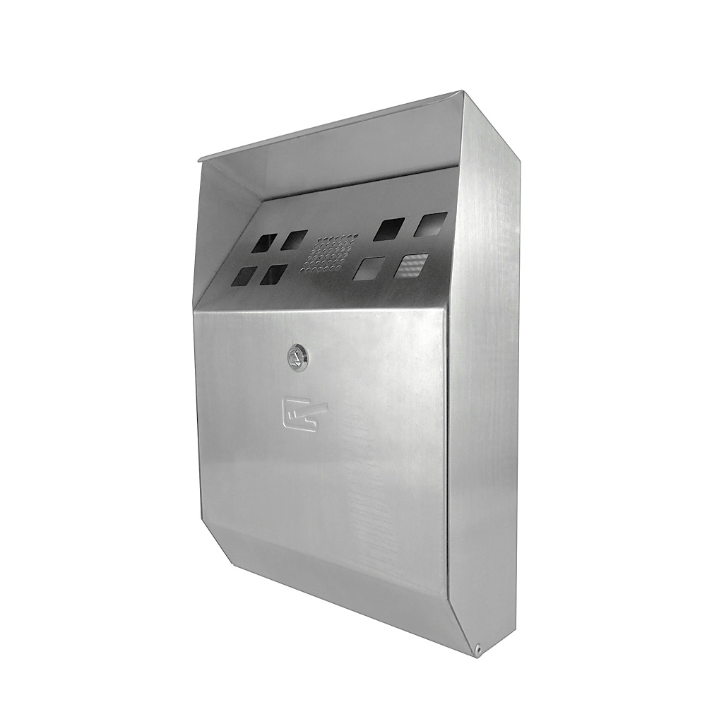 Max Self-Extinguishing Weather- and Theft-Proof Wall-Mounted Cigarette Bin