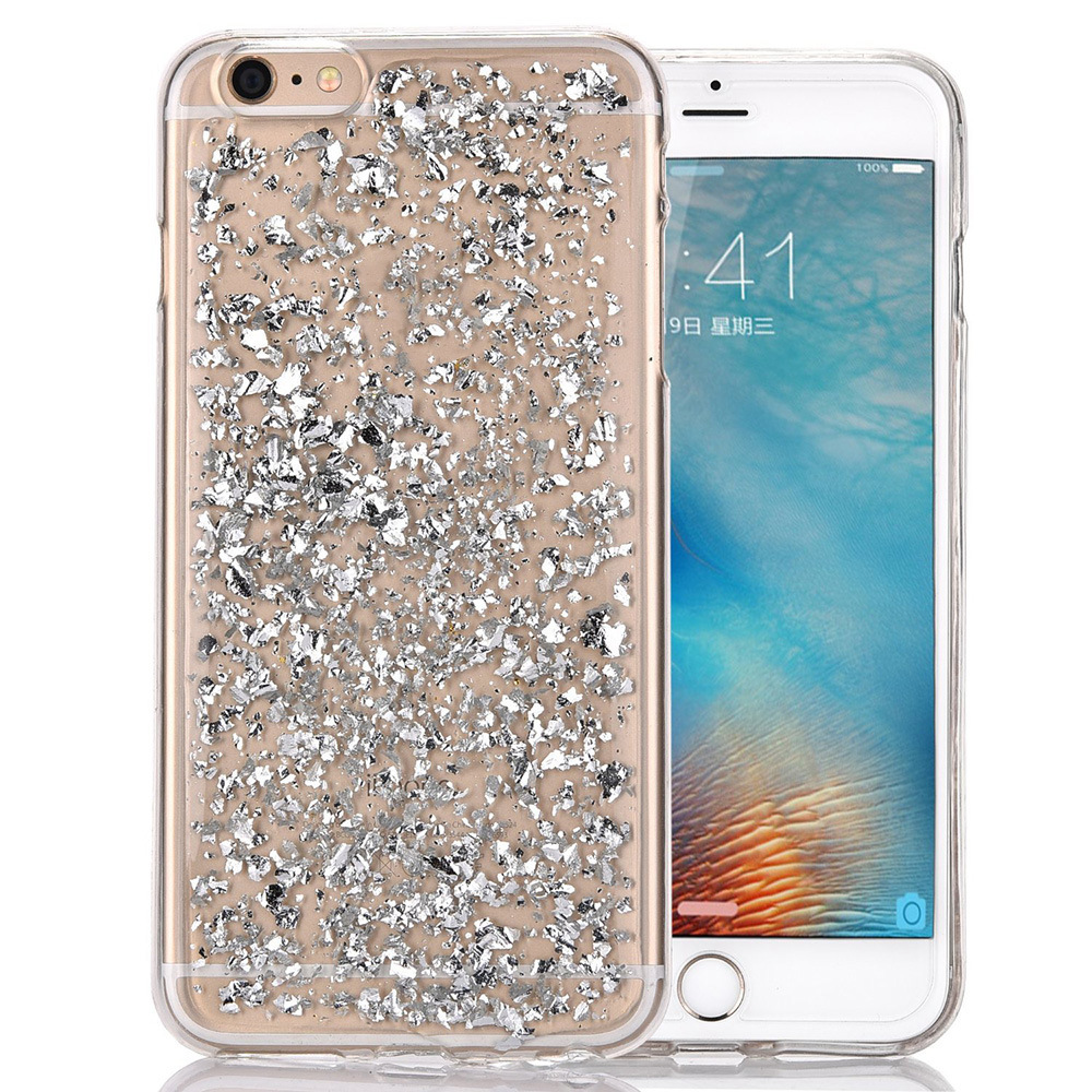 Custom Bling Glitter Mobile Phone Housing Case for iPhone 7