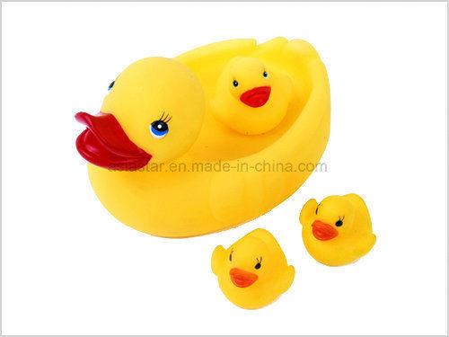 Yellow Duck Family Bath Set