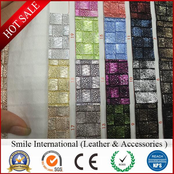 PVC Artificial Leather for Handbag