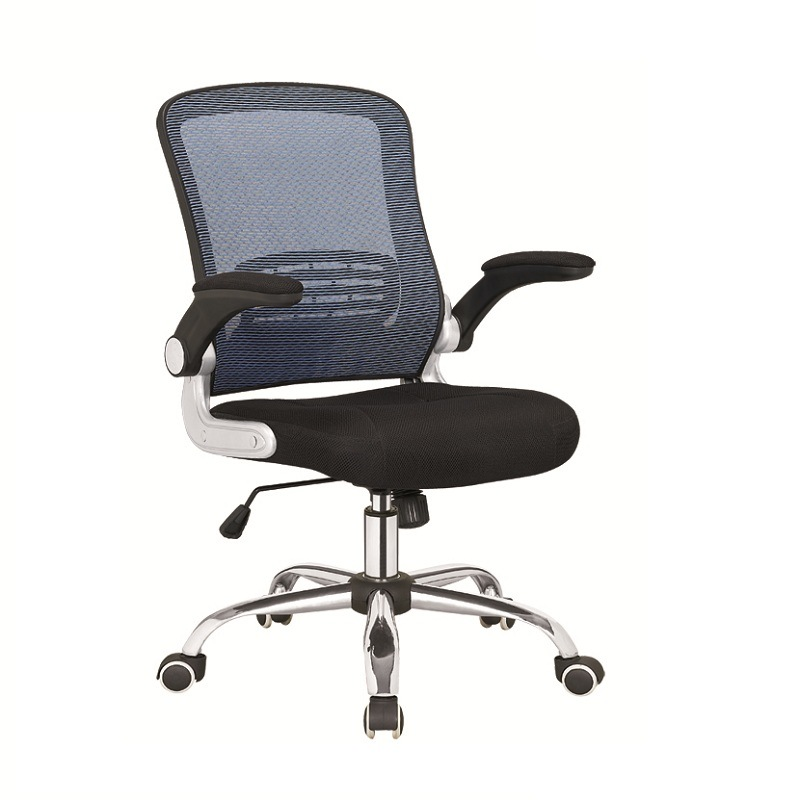 Comfortable Mesh Chair with Rotatable Armrest