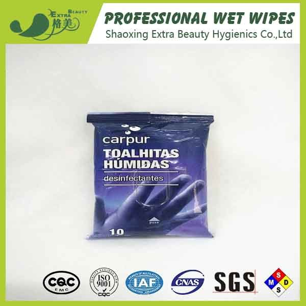 Desinfectantes Antibacterial Wet Wipes for Hand Cleaning