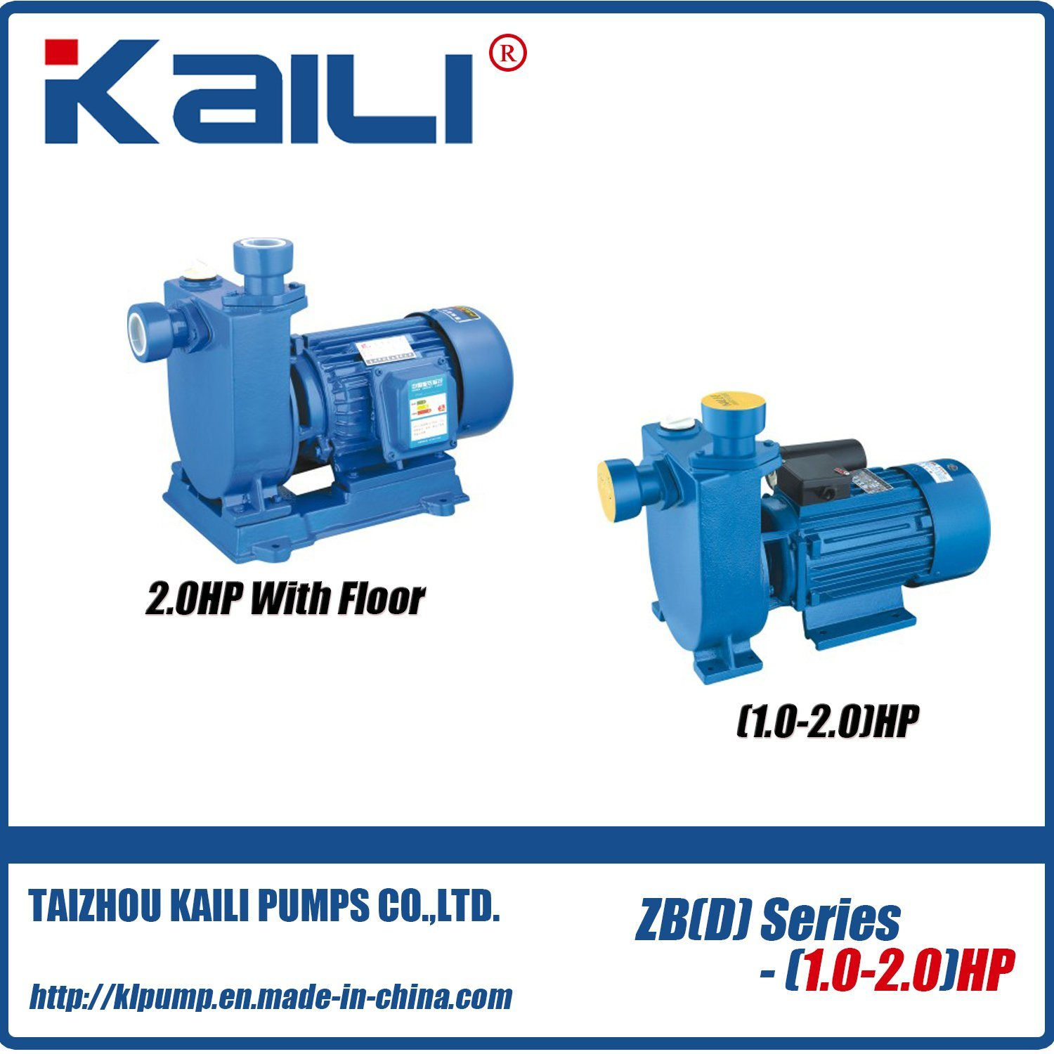 ZB Self -Priming Centrifugal Pump