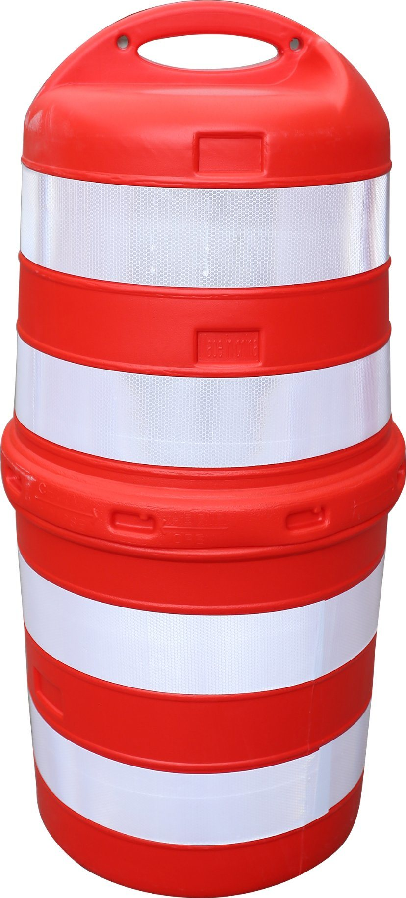 Stackable Rugged Durable LDPE 1000mm Plastic Traffic Drum