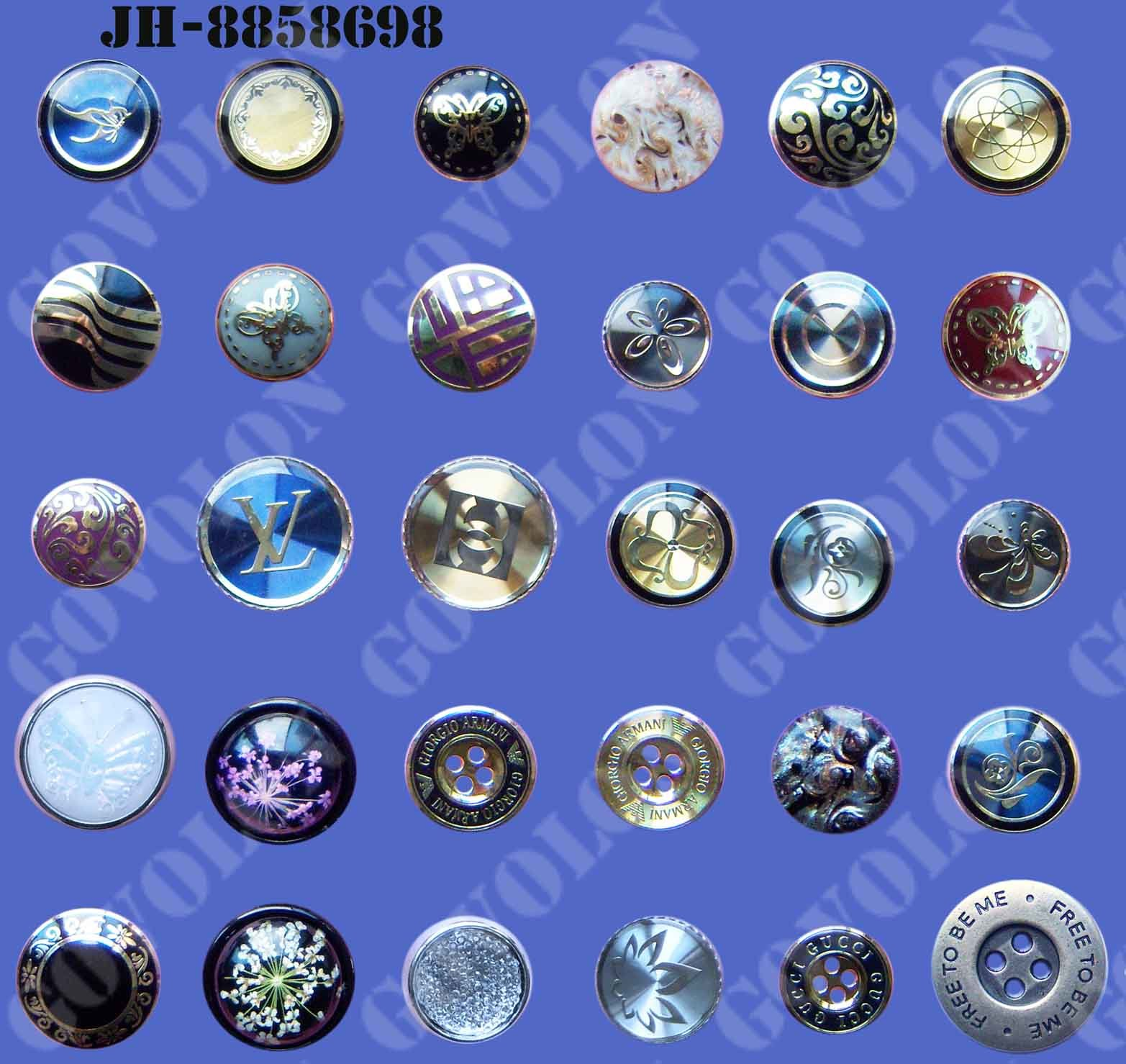 Garment Accessories/Shirt Button/Plastic Button/Metal Button
