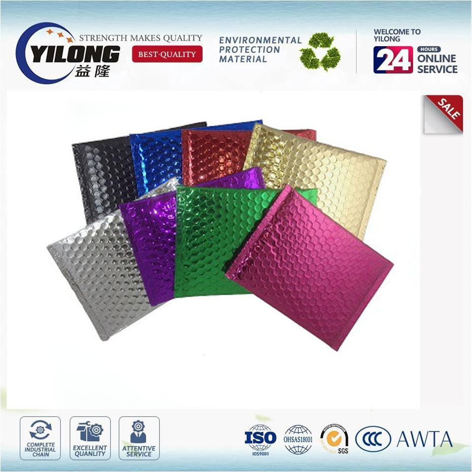 2017 Colorful Aluminum Film Bubble Delivery Envelopes