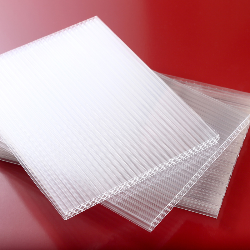 High Clarity Hollow Polycarbonate Sheet Honeycomb Sheet for Decoration
