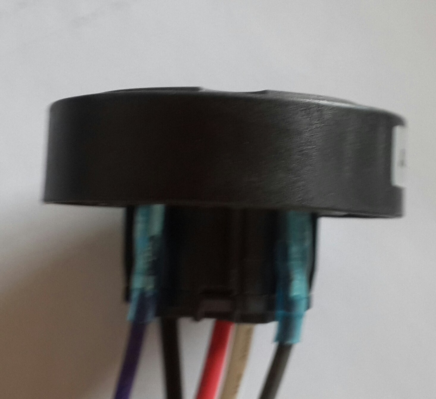 ANSI C136.41 7 POS Cable Part 2213627-4 Twist-Lock Receptacle Conncetor for Twist-Lock Photocontrol for LED Lighting