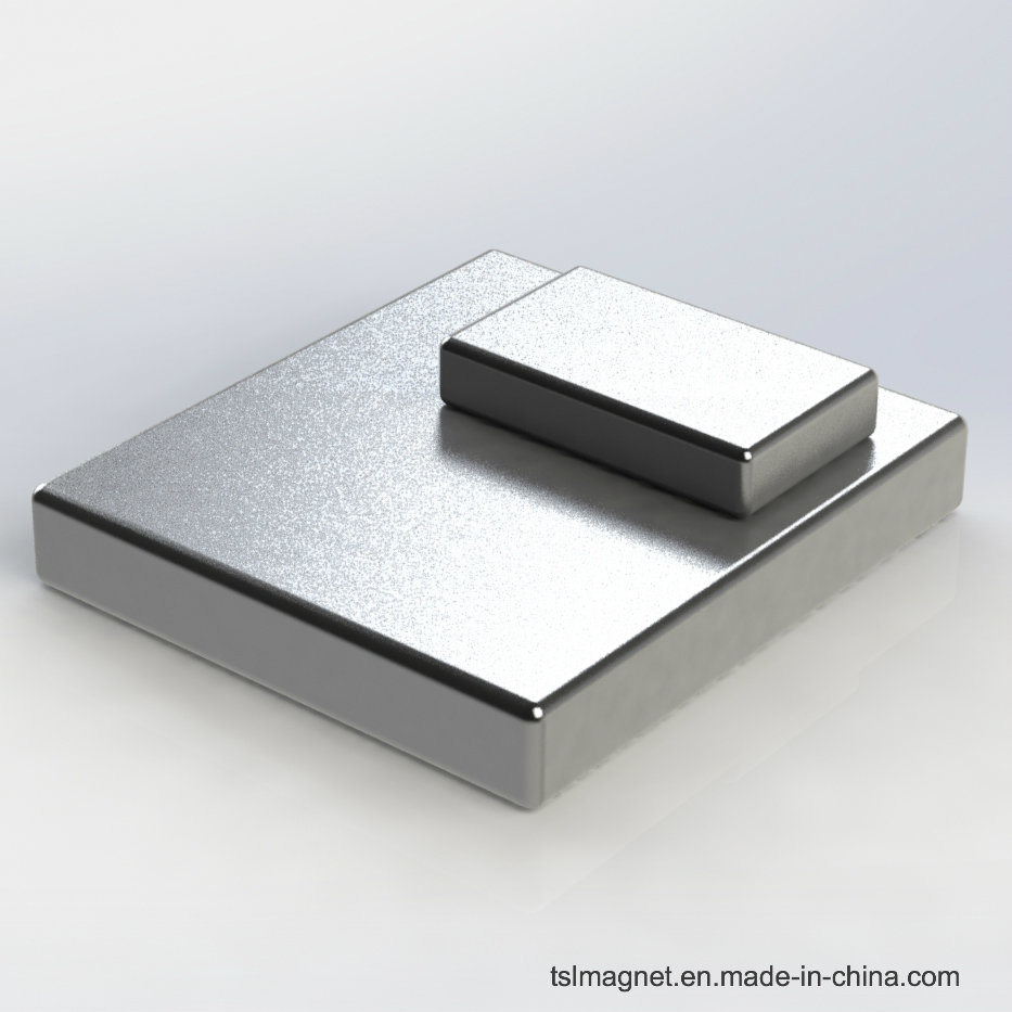 Sintered Block Permanent NdFeB Magnet with High Performance