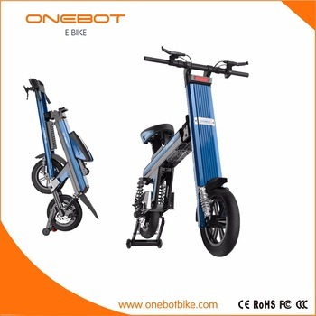 250W 500W Folding Electric Bike Convenient Eco E Scooter