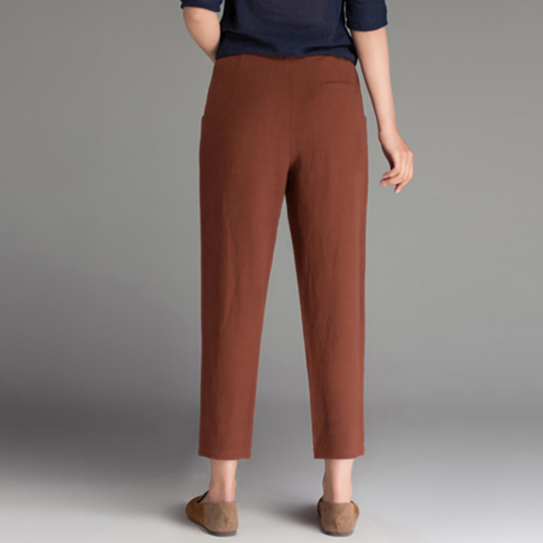 Ladiess Fashion Leisure Preppy Style Pants