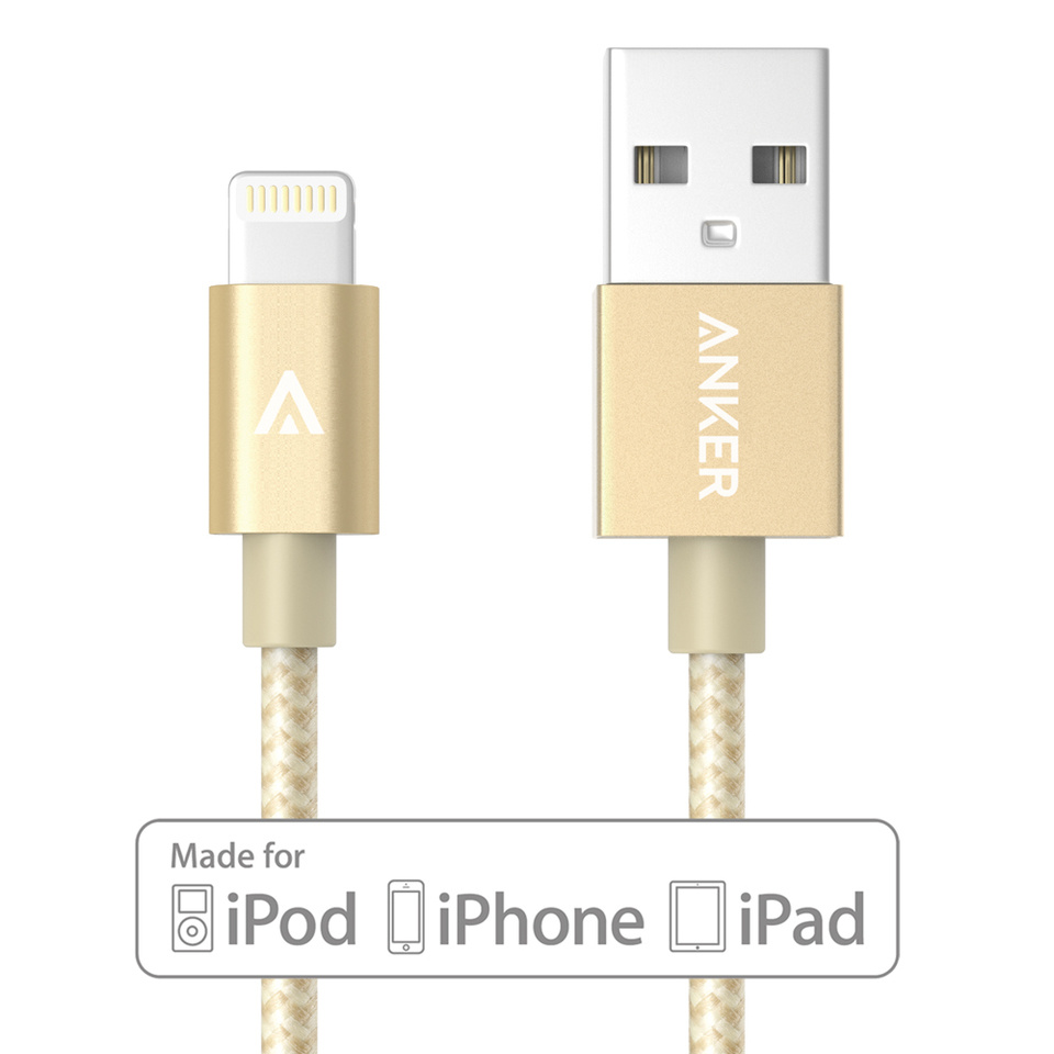 Anker 3FT Nylon Braided USB Cable [Mfi Certified]