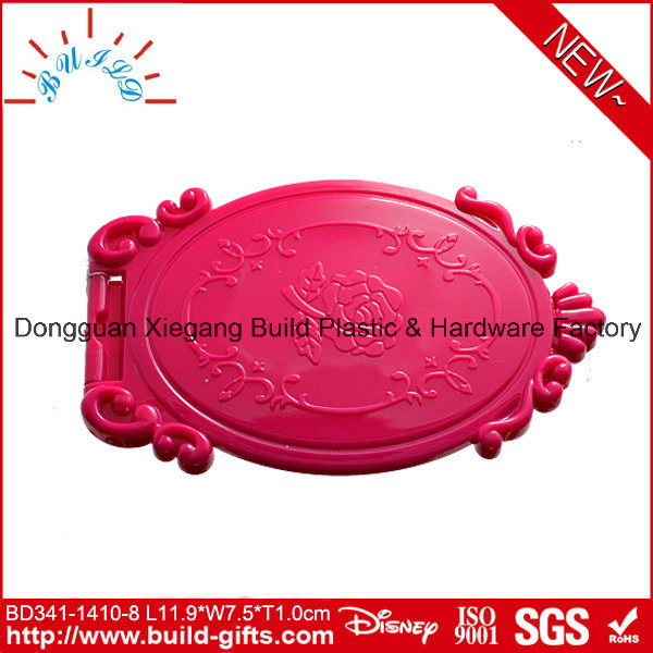 Plastic Makeup Mirror Fashion Make up Mirror Fold Makeup Mirror