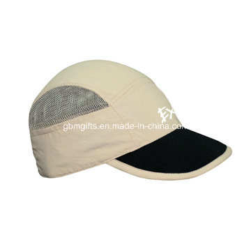 Pre-Curved Peaks Six Panel Baseball Cap Without Eyelets / High Quality High Crown Baseball Caps