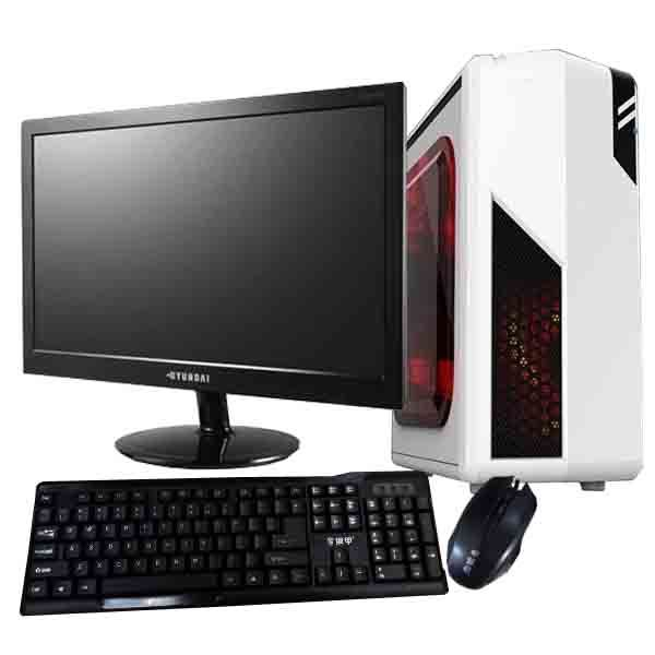Support 15inch Monitor Personal Desktop Computer DJ-C001