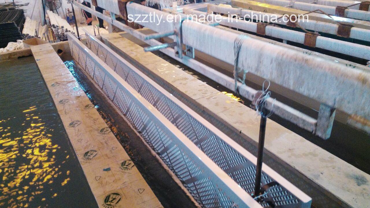 Aluminum 6063 Alloy Extrution Sheet/Strip Multi-Head Gang Drilling Profile